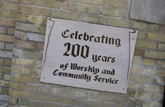 Celebrating 200 Years of Worship and Community Service