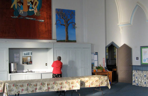 Richmond Hill United Church meeting room