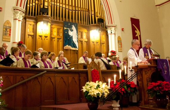 Christmas Service at Richmond Hill United Church