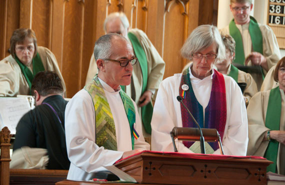 Richmond Hill United Church ministers