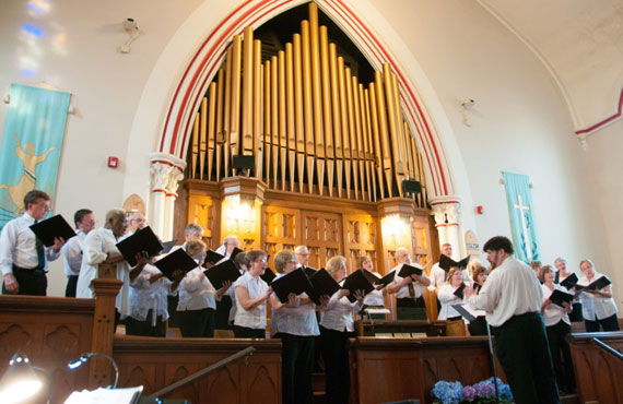 Richmond Hill United Church - Choir