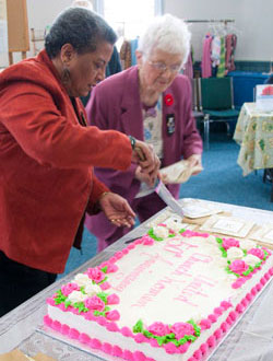 Women's Group - 50th Cake Cutting